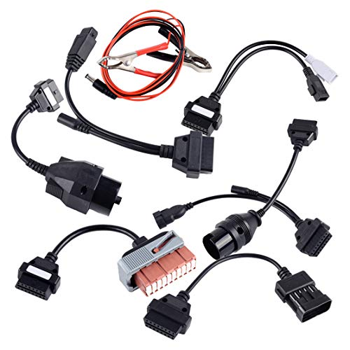 CITALL 8pcs Car Diagnostic Scanner Tool Cable Connector: