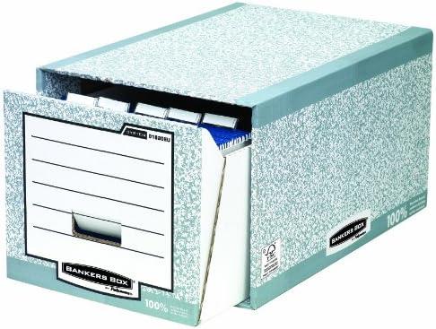 Bankers Box System - Pack de 5 cajones archivador, gris: Amazon.es ...