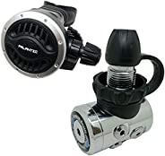 """Palantic Scuba Diving AS105 Din Regulator Adjustable Second Stage with 27"""""""