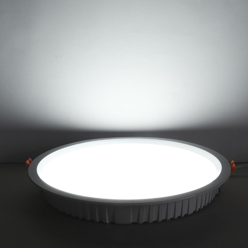 Yescom 8'' 30W Round LED Down Light, 6000K Cool White, 2800LM, Home Office Retrofit LED Recessed Lighting Fixture by Yescom (Image #9)