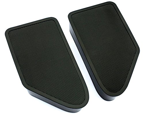Bed Rail Stake Pocket Covers for 2014-2018 Silverado Sierra (Set of 2)