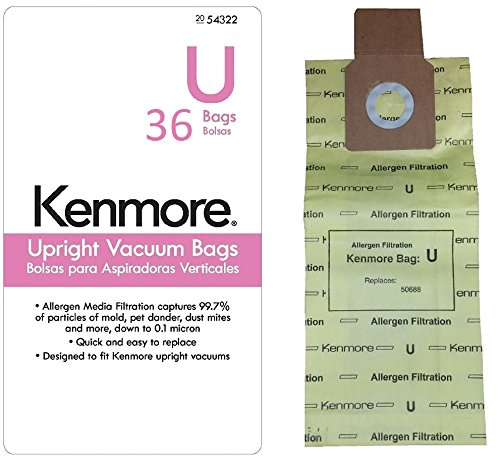 Kenmore Allergen Filtration Vacuums 54322