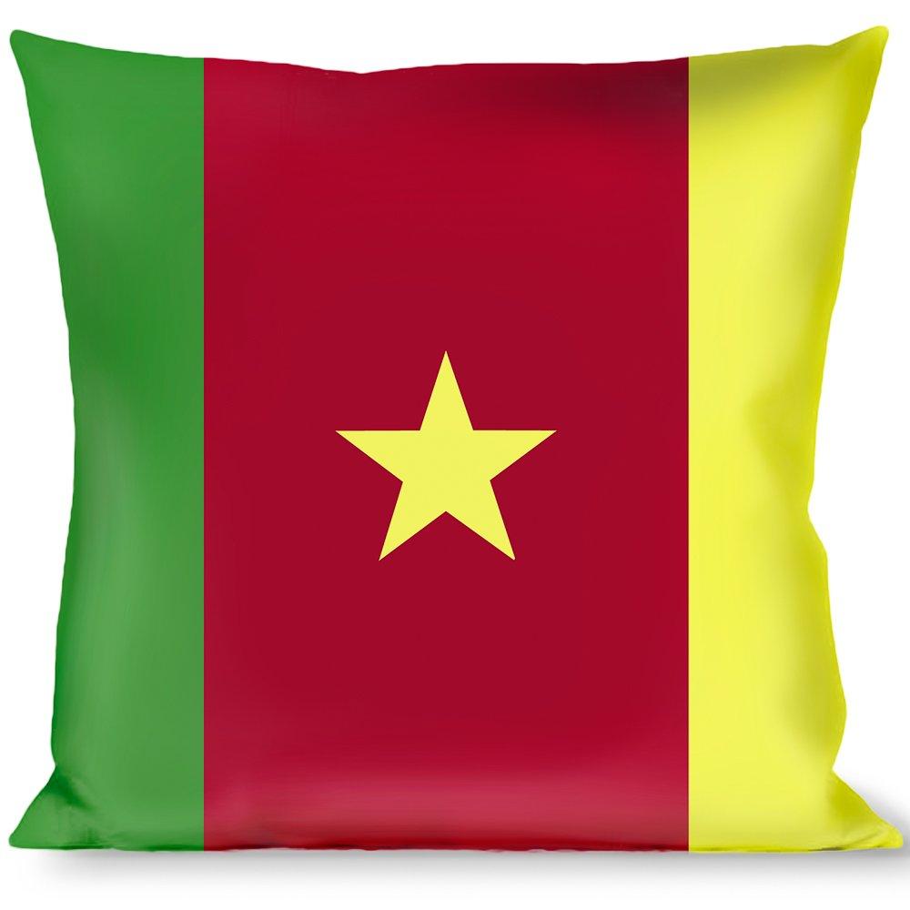 Amazon.com: Cojín con hebilla, diseño de banderas de Camerún ...