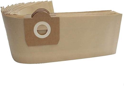 WuYan - Bolsa de polvo para aspiradora Karcher WD3 WD3200 WD3300 WD3.500P MV3 SE4001 SE4002 6.959-130: Amazon.es: Hogar