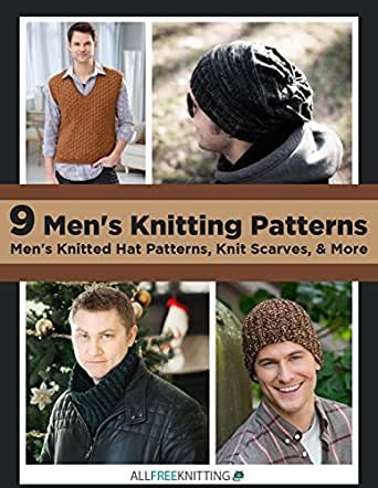 9 Mens Knitting Patterns Mens Knitted Hat Patterns Knit Scarves