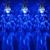 Gemmy Lightshow String with Clips - S/5-Round (Blue)