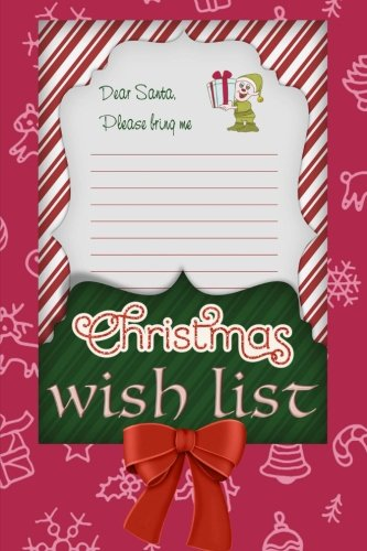 Christmas Wish List: 6x9 Journal, Blank Lined Paper - 100 Pages, Gift Ideas Suggestions for Kids and Adults, Holiday Notebook Personal Journal for Christmas Planning Notes, To-Do Lists, Reminders (Christmas Day Shopping List)