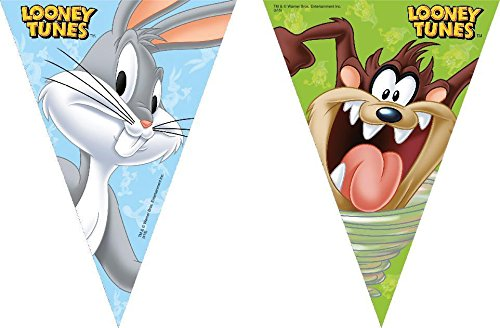2.3m Looney Tunes Bunting Flags