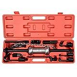 13PC Dent Puller w/10lbs Slide Hammer Auto Body Truck Repair Tool Kit Heavy