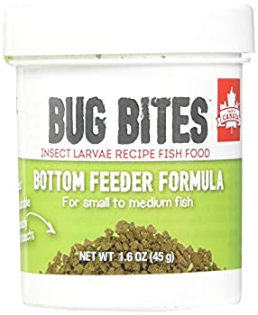 Fluval A6586 Bug Bites Bottom Feeder Granules 159 oz Small to Medium Fish