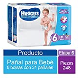 Huggies Ultraconfort, Niño, Etapa 6, 248 pañales (8x31)