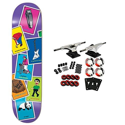 "Enjoi Skateboard Complete La Loteria Barletta 8.25"""