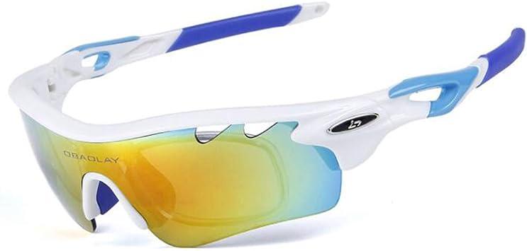 QXYOUNGB Gafas fotocromáticas de Ciclismo Deportes al Aire ...