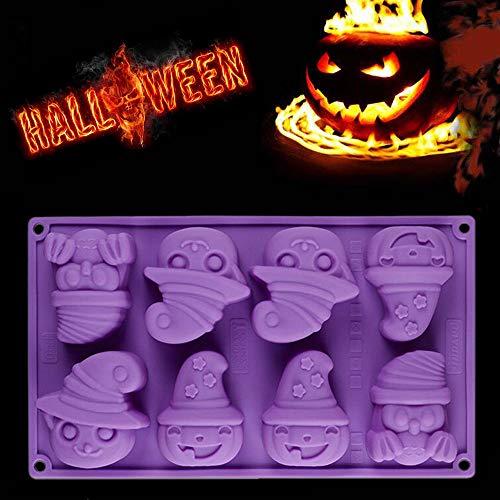 (Euone  Halloween Clearance , Creative Happy Halloween Silicone Pumpkin Cake Silicone Mold Kitchen Bake)