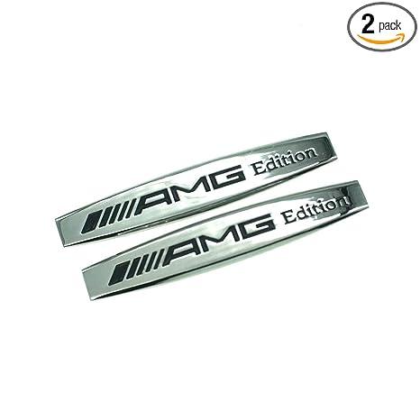 Car Side Emblem Rear Badge Fender Sticker Decal Logo For Mercedes-Benz AMG