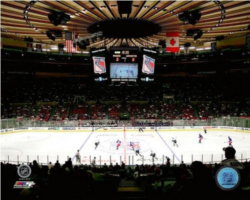New York Rangers Madison Square Garden NHL Action Photo #2 8x10