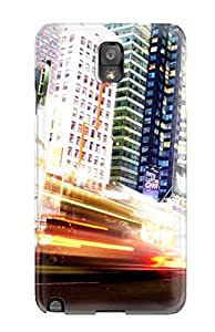 Flexible Tpu Back Case Cover For Galaxy Note 3 - Manhattan New York City