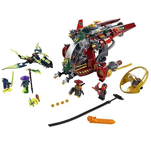 LEGO Ninjago 70735 Ronin R.E.X. Ninja Building Kit (Lego Sets Ninjago 2015)