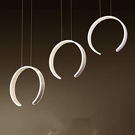 Lámpara 3 Suspensión LED Design para mesa de comedor tres c ...