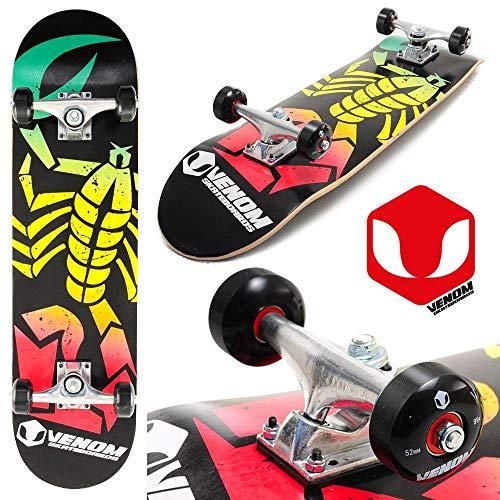 Complete Beginner Skateboard 31 Inches Venom Skateboards
