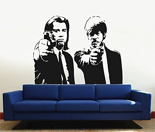 ik2885 Wall Decal Sticker Pulp Fiction Movie Living Bedroom Fans