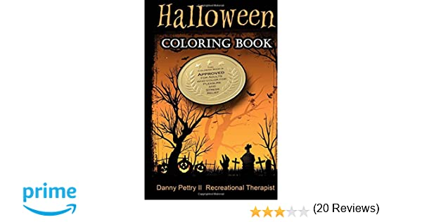 Amazon.com: Halloween Coloring Book: Approved for adults who color ...