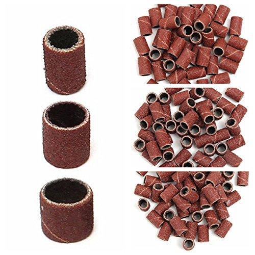 150pcs 80 120 180 Grit sander sleeves Sanding Bands Aabrasive Tool