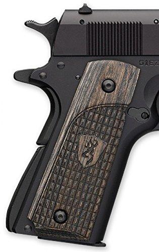 Browning 1911-22/380 Label Grips, Black