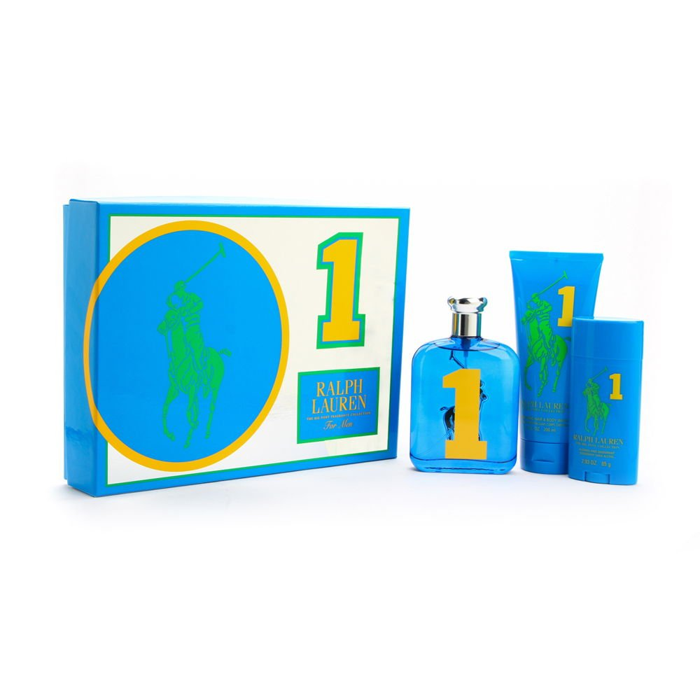 Ralph Lauren The Big Pony No. 1 Fragrance Collection 3 Piece Gift Set