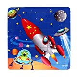Jigsaw Toys,Children Kids Wooden Educational Learning Puzzles Toys➪Laimeng (C)
