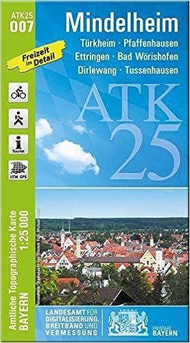 Mindelheim 1 25 000 Turkheim Pfaffenhausen Ettringen Bad