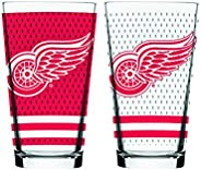 NHL Detroit Red Wings Mixing Glass, 2-Pack