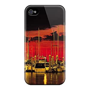 New Style 6 Protective Cases Covers/ Iphone Cases - Boats In The Night