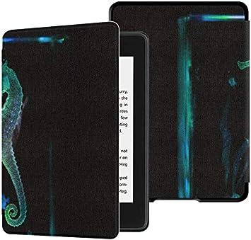 Estuche para Kindle Paperwhite E-Reader Secret Seahorse Underwater Kindle Paperwhite Estuche para niñas Estuche con Auto Despertador/Reposo automático Kindle Paperwhite 2018 10th Generation 2018: Amazon.es: Electrónica