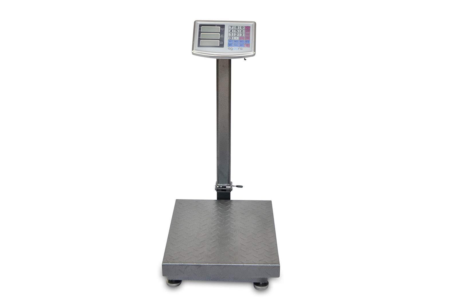 Bascula Industrial de Plataforma 40x50Cm Balanza Digital Reforzada 300Kg product image