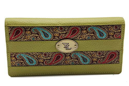 Clutch Wallet Animal Skin Collection - Womens (blue green) - 2