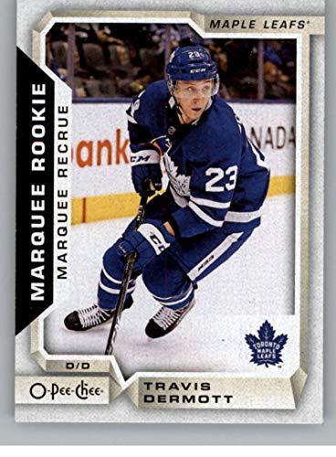 2018-19 O-Pee-Chee #511 Travis Dermott RC Rookie Card SP Short Print Toronto Maple Leafs (18-19 UD OPC Hockey Card)