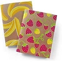 NMWA Banana + Strawberry Notebook Set