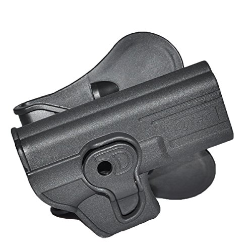 Cytac CY-G19 Paddle Polymer Holster for G19,23, and M-22 Air & Airsoft Pistols, - Kwa Guns Paintball