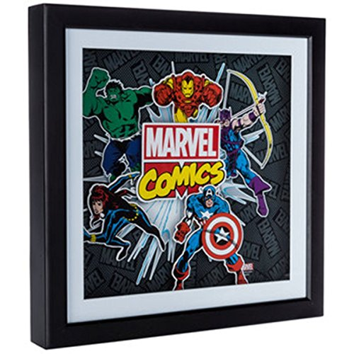 Marvel Comics 3-Dimensional Shadow Box