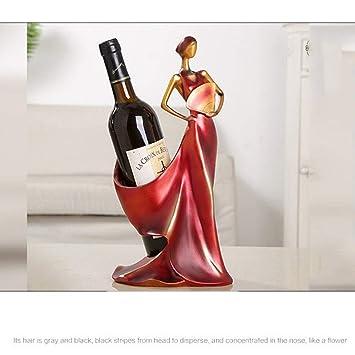 Wine Rack Beautiful Girl Fan Wine Holder Wine Shelf Home