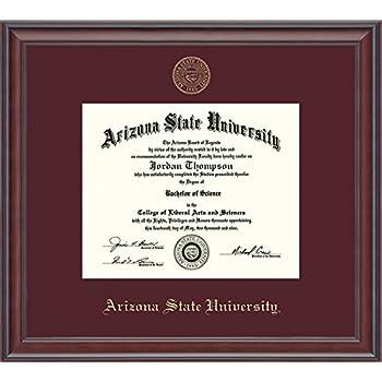 Amazon Com Arizona State University Diploma Frame