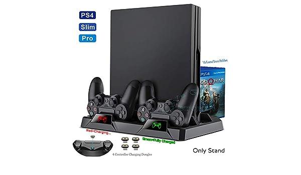 PS4 / Pro/Adelgaza La Consola Ventilador De Refrigeración Soporte ...