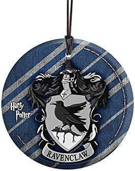 "Harry Potter Ravenclaw 2/"" Glass Circle Ornament"