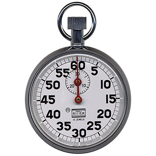 (Ritter Stopwatch - 60-second Sweep - Times in 100ths of a)