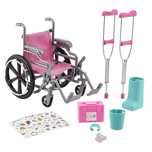 Journey Girls Wheelchair Playset – Amazon Exclusive
