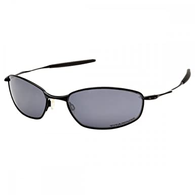 0b49f02a26 Oakley Polarized Whisker OO4020 26-206 Silver Sunglasses - size One Size   Amazon.co.uk  Clothing