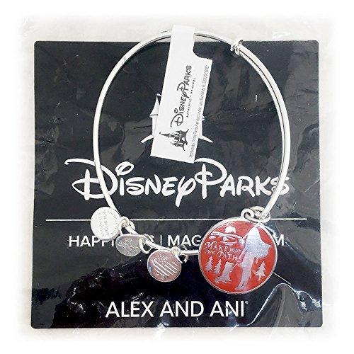 Disney Parks Alex and Ani Princess Pocahontas Bangle Bracelet (Silver)