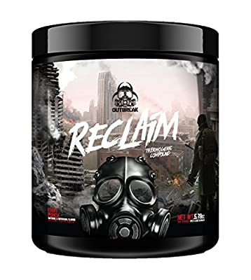 Reclaim Thermogenic Compound – Fat Burner Weight Loss Supplement, Acetyl L-Carnitine Stimulant Powder, Consumes Calories Stimulate Fat Loss, Fruit Punch, 164g