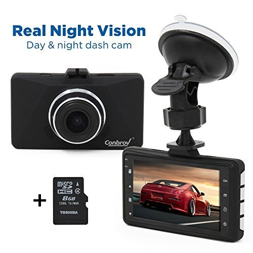 Best Night Vision Dash Cam: Capture Video When Driving At ...